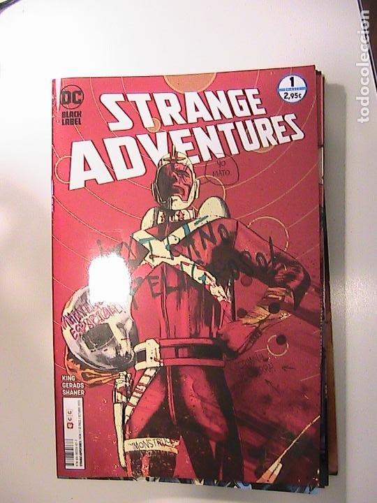 STRANGE ADVENTURES Nº 01. TOM KING. ECC, 2020. (Tebeos y Comics - Comics otras Editoriales Actuales)