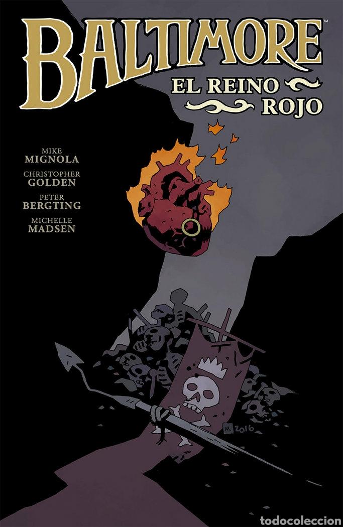 BALTIMORE 8 EL REINO ROJO MIGNOLA NORMA (Tebeos y Comics - Comics otras Editoriales Actuales)