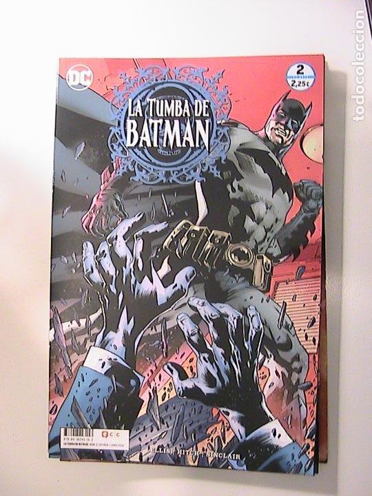 LA TUMBA DE BATMAN Nº 02. ECC, 2020. (Tebeos y Comics - Comics otras Editoriales Actuales)