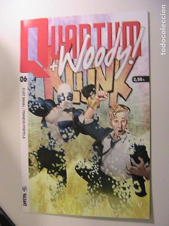 QUANTUM & WOODY Nº 06- VALIANT. (Tebeos y Comics Pendientes de Clasificar)