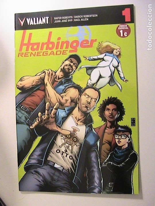 HARBINGER RENEGADE Nº 1. VALIANT. (Tebeos y Comics Pendientes de Clasificar)