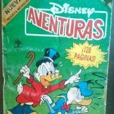 Cómics: COMIC DISNEY AVENTURAS ABRIL PATO DONALD TIO RICO - PATO DONALD. Lote 268637604