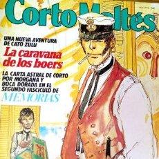 Cómics: CORTO MALTES NUM 3 LA CARAVANA DE LOS BOERS. Lote 268643914