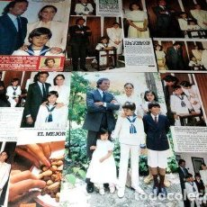 Cómics: AN003 JULIO ENRIQUE IGLESIAS RECORTES CLIPPINGS 1984. Lote 268651164