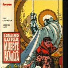 Cómics: CABALLERO LUNA MUERTE EN LA FAMILIA CÓMICS FÓRUM MARVEL. Lote 268728754
