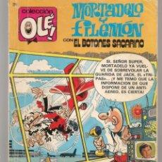 Cómics: OLÉ!. Nº 256 - M 45. MORTADELO Y FILEMÓN CON EL BOTONES SACARINO. EDC. B.1987. (ST/A16). Lote 268735664