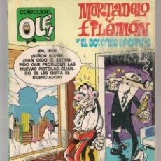 Cómics: OLÉ!. Nº 188 - M 103. MORTADELO Y FILEMÓN CON EL BOTONES SACARINO. EDC. B.1988. (ST/A16). Lote 268736004