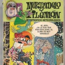 Cómics: OLÉ!. Nº 330 - M. 89. MORTADELO Y FILEMÓN. EL ESTROPICIO METEOROLÓGICO. EDC. B. (ST/A16). Lote 268736609