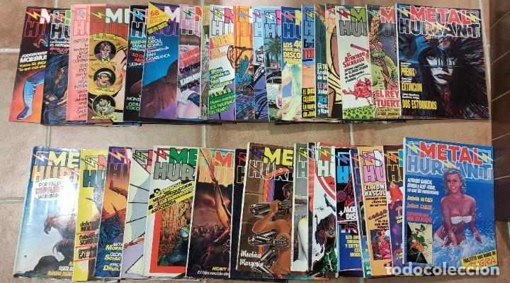 LOTE 35 METAL HURLANT (Tebeos y Comics - Comics Pequeños Lotes de Conjunto)