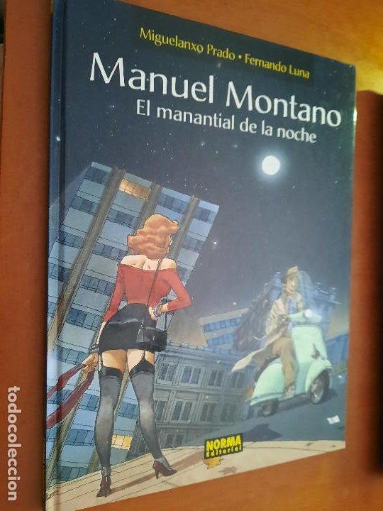 MANUEL MONTANO. EL MANANTIAL DE LA NOCHE MIGUELANXO PRADO. NORMA EDITORIAL. TAPA DURA. BUEN ESTADO (Tebeos y Comics - Comics otras Editoriales Actuales)