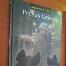 Cómics: PRESAS FÁCILES. MIGUELANXO PRADO. NORMA EDITORIAL. TAPA DURA. BUEN ESTADO. Lote 268870664