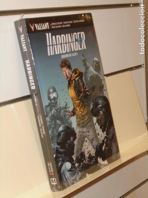 HARBINGER EDICION DE LUJO 1 TOMO CARTONÉ VALIANT - MEDUSA COMICS (Tebeos y Comics - Comics otras Editoriales Actuales)