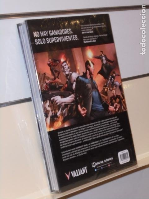 Cómics: HARBINGER WARS EDICION DE LUJO TOMO CARTONÉ VALIANT - MEDUSA COMICS OFERTA - Foto 2 - 268881204