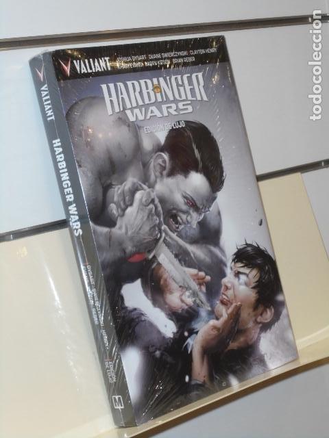 HARBINGER WARS EDICION DE LUJO TOMO CARTONÉ VALIANT - MEDUSA COMICS OFERTA (Tebeos y Comics - Comics otras Editoriales Actuales)