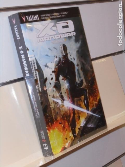 X-O MANOWAR EDICION DE LUJO 2 TOMO CARTONÉ VALIANT - MEDUSA COMICS OFERTA (Tebeos y Comics - Comics otras Editoriales Actuales)