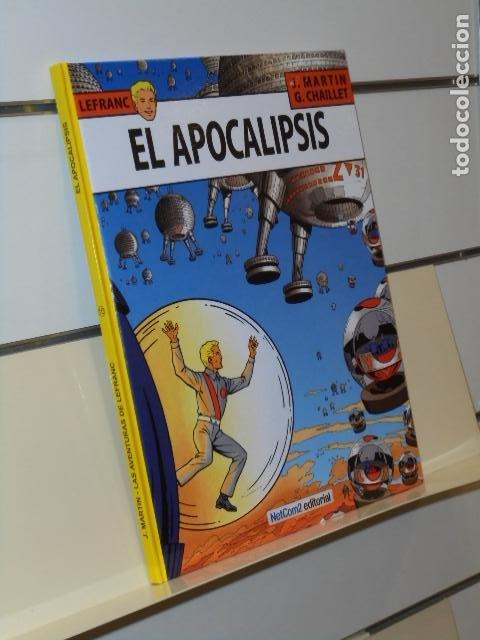 LEFRANC Nº 10 EL APOCALIPSIS J. MARTIN Y G. CHAILLET TOMO CARTONÉ - NETCOM2 (Tebeos y Comics - Comics otras Editoriales Actuales)