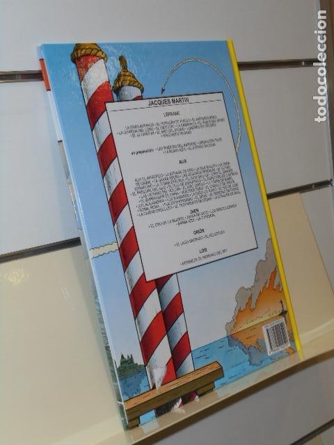 Cómics: LEFRANC Nº 16 EL ULTIMATUM J. MARTIN Y F. CARIN TOMO CARTONÉ - NETCOM2 - Foto 2 - 268884004