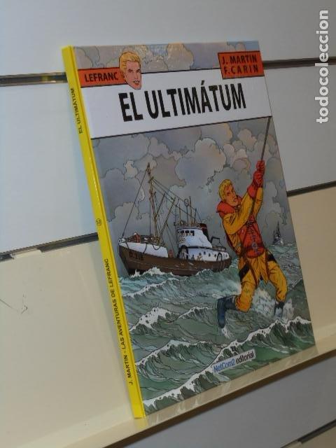 LEFRANC Nº 16 EL ULTIMATUM J. MARTIN Y F. CARIN TOMO CARTONÉ - NETCOM2 (Tebeos y Comics - Comics otras Editoriales Actuales)