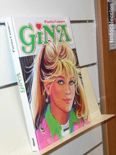 GINA PURITA CAMPOS TOMO CARTONÉ - GLENAT OFERTA (Tebeos y Comics - Comics otras Editoriales Actuales)