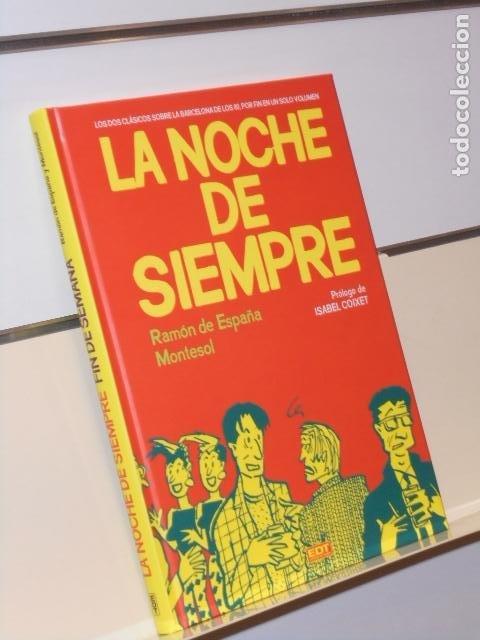 LA NOCHE DE SIEMPRE RAMON DE ESPAÑA, MONTESOL TOMO CARTONÉ - EDT OFERTA (Tebeos y Comics - Comics otras Editoriales Actuales)