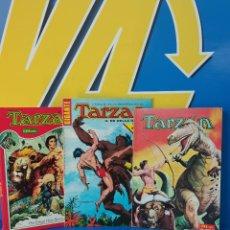 Cómics: LOTE 3 COMICS VARIOS TARZAN LIBRO COMIC ( UNO EDICION ITALIANA). Lote 268901894