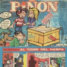 Cómics: PIÑON Nº 1 - DON COCO TAPONE EL TIGRE DEL HAMPA - SUPLEMENTO DEL MAGISTERIO ESPAÑOL 1969 ''BUEN ESTA. Lote 268902364