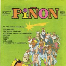 Cómics: PIÑON Nº 12 - SUPLEMENTO DEL MAGISTERIO ESPAÑOL 1970. Lote 268902459