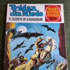 Cómics: ROLDAN SIN MIEDO, EL SECRETO DE KARAKORUM. Lote 268981029