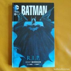 Cómics: BATMAN R.I.P. - GRANT MORRISON / TONY DANIEL. Lote 268982564