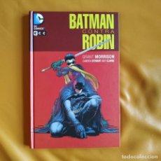Cómics: BATMAN CONTRA ROBIN - GRANT MORRISON / CAMERON STEWART. Lote 268984289
