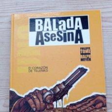 Cómics: BALADA ASESINA - EL CORAZON DE TELENKO - DEVIR. Lote 268987304