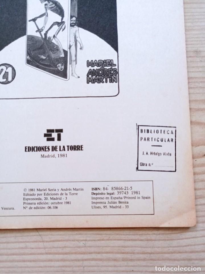 Cómics: Python Trip 21 - Papel Vivo - Primera Edicion 1981 - Ediciones De La Torre - Foto 2 - 268988899
