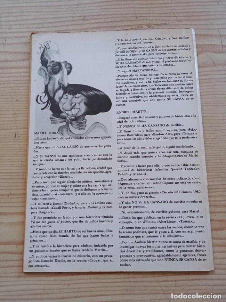 Cómics: Python Trip 21 - Papel Vivo - Primera Edicion 1981 - Ediciones De La Torre - Foto 4 - 268988899