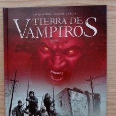 Cómics: TIERRA DE VAMPIROS - EXODO - 2013 - YERMO EDICIONES. Lote 268989904