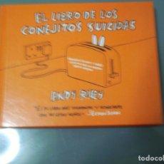 Cómics: EL LIBRO DE LOS CONEJITOS SUICIDAS - ANDY RILEY. Lote 268995394