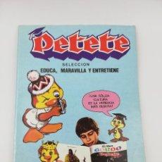 Cómics: PETETE SELECCION EDUCA MARAVILLA Y ENTRETIENE TOMO 1. Lote 268995694