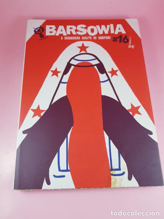 COMIC-BARSOWIA Nº16-O DERRADEIRO ASALTO DO CAMPION-2011-POLARIA-EXCELENTE-SOBRECUBIERTA (Tebeos y Comics Pendientes de Clasificar)