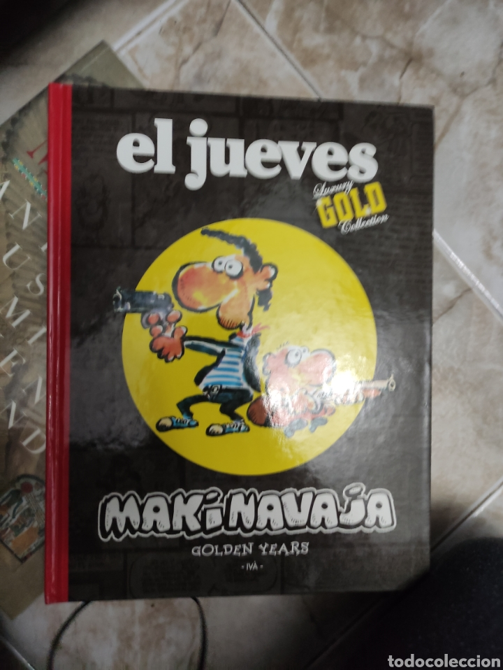 MAKINAVAJA EL JUEVES GOLD (Tebeos y Comics Pendientes de Clasificar)