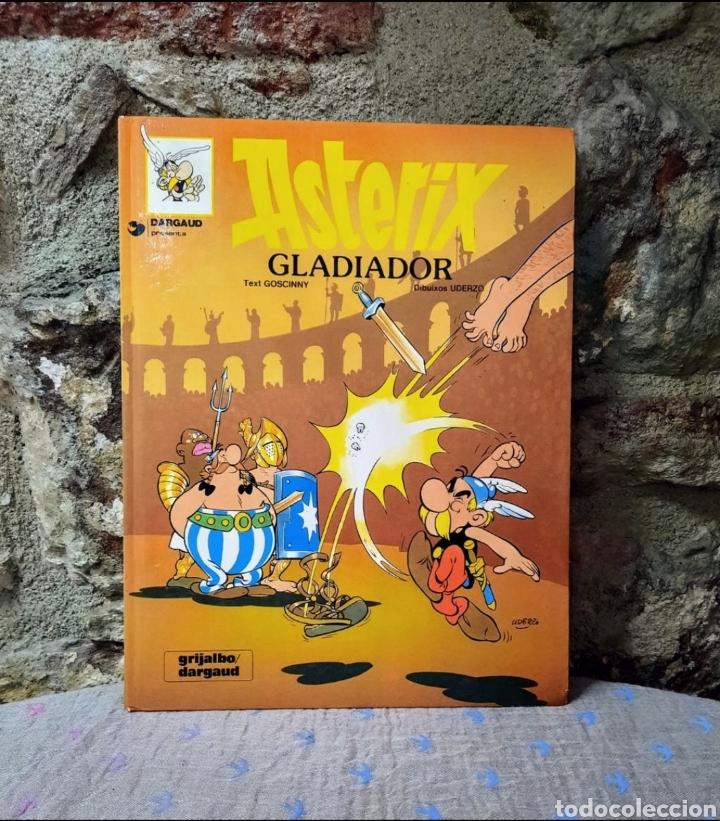* CÒMIC, ASTÈRIX GLADIADOR, 1989 (Tebeos y Comics Pendientes de Clasificar)