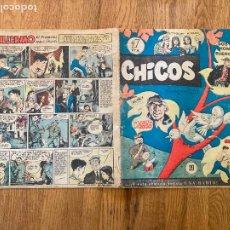 Cómics: ¡¡LIQUIDACION!! - PEDIDO MINIMO 5 EUROS - CHICOS Nº 20 - 1 PTA - ORIGINAL - GCH. Lote 269055103