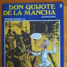 Cómics: DON QUIJOTE DE LA MANCHA EN FASCICULOS Nº 19 - EDICIONES NARANCO (P1). Lote 269121108