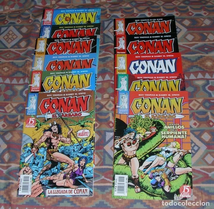 CONAN EL BÁRBARO FORUM 15 AÑOS FANTASÍA HERÓTICA (Tebeos y Comics - Comics Pequeños Lotes de Conjunto)