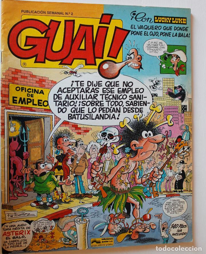 Cómics: Guai, editorial Junior 1977 números 1,2,3 y 4 - Foto 4 - 269201658