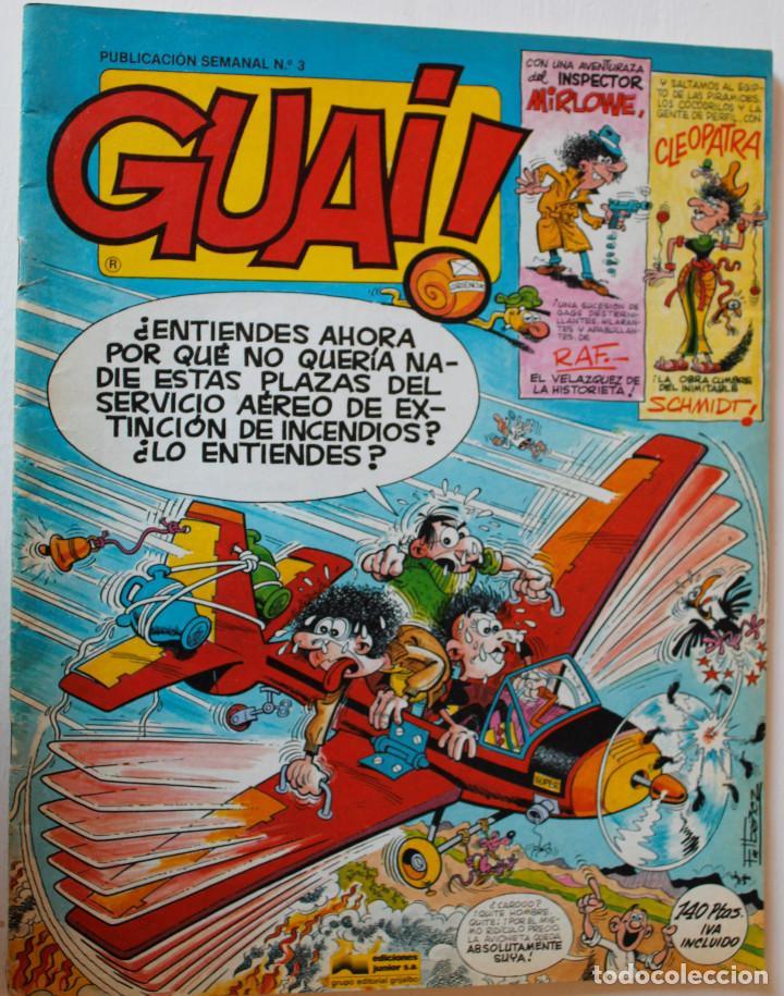 Cómics: Guai, editorial Junior 1977 números 1,2,3 y 4 - Foto 7 - 269201658