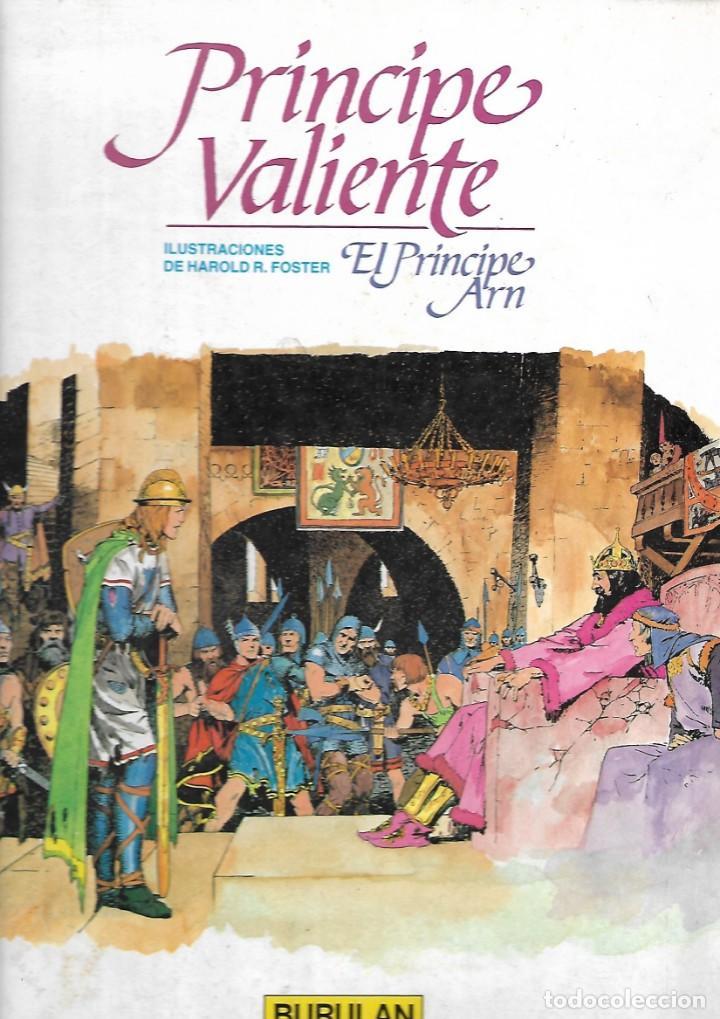 PRÍNCIPE VALIENTE Nº 2: EL PRÍNCIPE ARN (Tebeos y Comics - Buru-Lan - Principe Valiente)