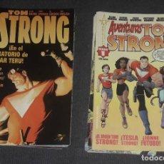 Cómics: TOM STRONG COMPLETA 14 COMICS AVENTURAS DE TOM STRONG COMPLETA 16 COMICS. Lote 269268698