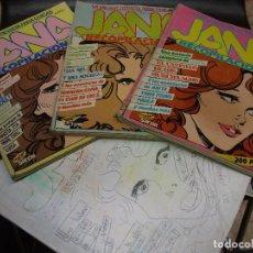 Cómics: REVISTA JANA TEBEO COMIC SARPE LOTE CON 59 NUMEROS - ALASKA MUSICA CINE MIGUEL BOSE Nº 1. Lote 269289393