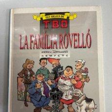 Cómics: EDICIONES B LA FAMILIA ROVELLO NUMERO 3 BUEN ESTADO. Lote 269302958