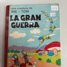 Cómics: UNA AVENTURA DE BIBI Y TOBI LA GRAN GUERRA BUEN ESTADO. Lote 269304898