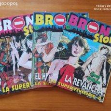 Cómics: BRONX STORY Nº 1, 2 Y 3 - PAUL GILLON (Z1). Lote 269344138